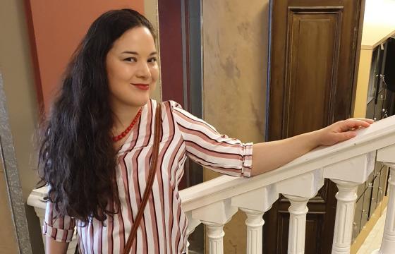 Anette Åkerlund Suomen Kirjallisuuden Seuran arkistossa