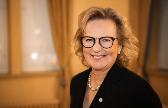Pirkanmaan rahaston hoitokunnan puheenjohtaja Helena Hiilivirta. Kuva: Antero Tenhunen