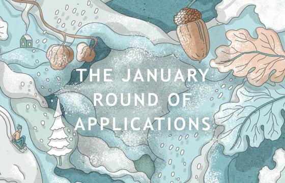 January Round of Applications