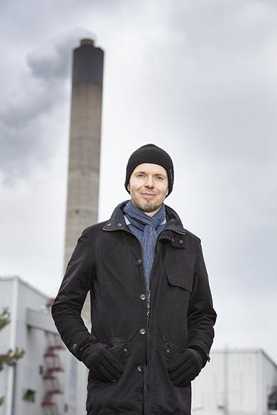 Olli Sippula specialises in particulate emissions from wood combustion.