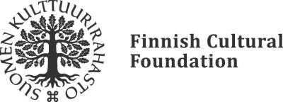 The Finnish Cultural Foundation's gray logo